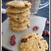 Eggless Butterless Oats Cranberry Cookies | Heathy Cookie Recipe