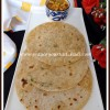 Phool Makhana Parathas[Puffed Lotus Seeds Parathas] | #BreadBakers