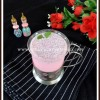 Sabja Rose Milk | Rose Flavored Milk With Basil Seeds