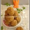 Poha Ladoo | Aval Ladoo | Easy Dessert Recipe