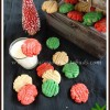 Eggless Colorful Christmas Cookies | Easy Holiday Bakes