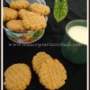 Eggless Butterless Peanut Butter Cookies