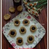 Eggless Butterless Peanutbutter - Jam Thumbprint Cookies