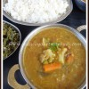Quick Sambar in Pressure Cooker