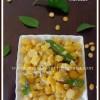 Kadale Bele Sundal Recipe