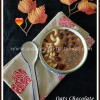 Oats Chocolate Smoothie Bowl Recipe