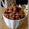 Inippu Karamani Sundal | Sweet Cowpea Sundal