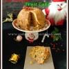 Vegan Christmas Fruit Cake Recipe
