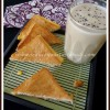 Kids Breakfast Ideas #7 - Cheese Sandwich and Milkshake