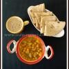 Channa Potato Gravy Recipe