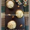 Eggless Badam Milk Cupcake Recipe