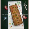 Eggless Christmas Fruit Cake Recipe [ Using Mincemeat]