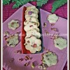 Eggless Rose Pistachio Cookies Recipe