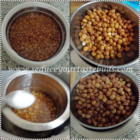 Kaala Channa Sundal Recipe