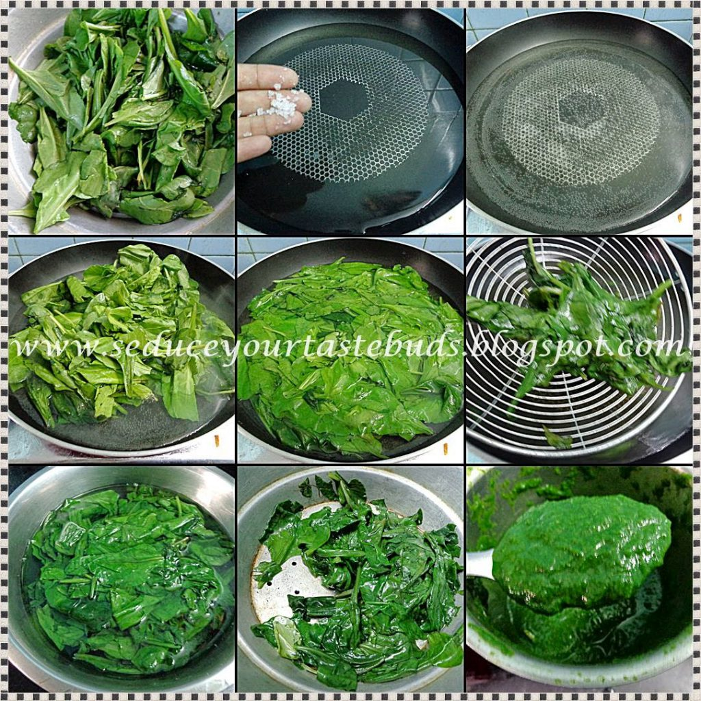 How To Make A Vibrant Green Spinach Puree