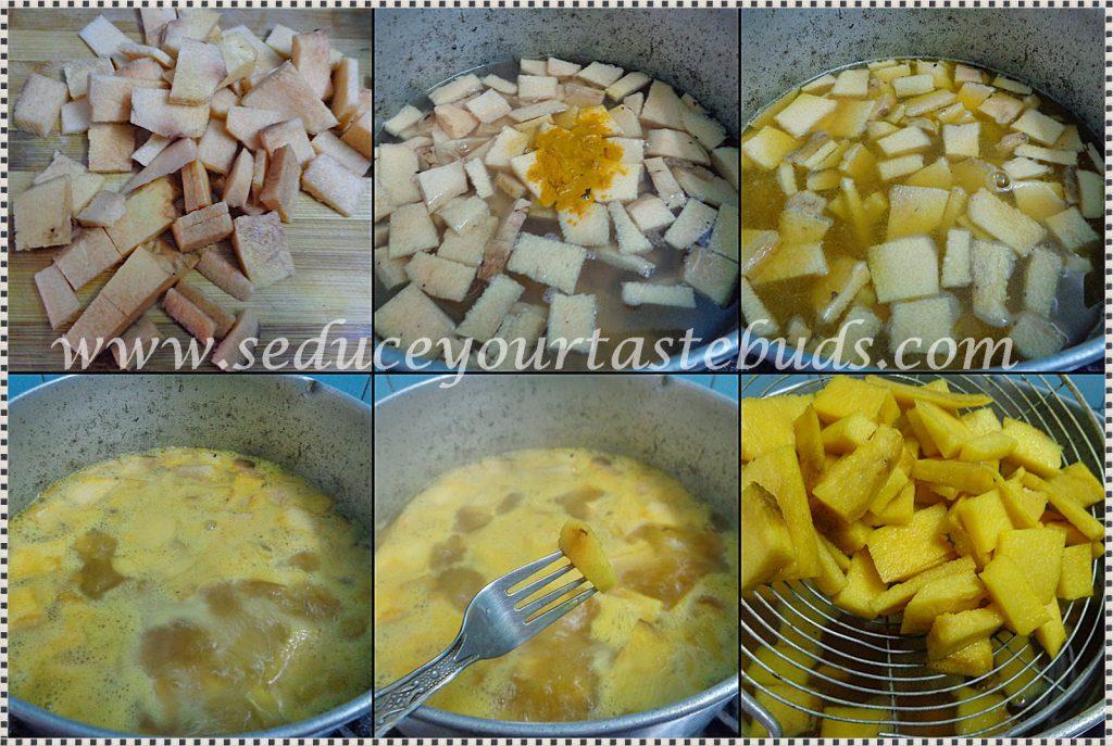 Tawa Yam Fries Recipe
