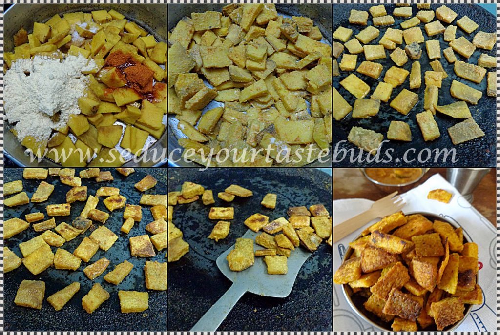 Tawa Yam Fries Recipe