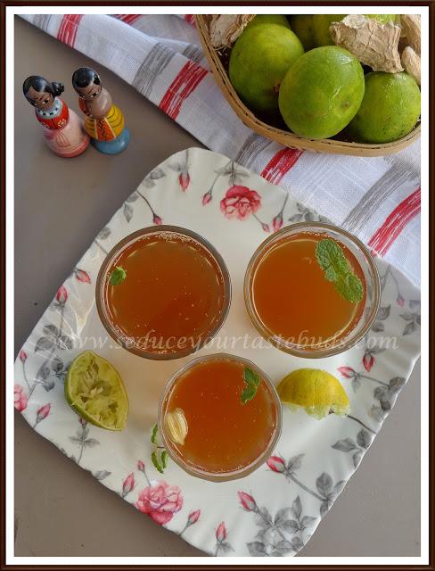 Lemon Paanaka | Summer Cooler