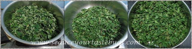 Murungakeerai Podi | Drumstick Leaves Powder / Spicemix