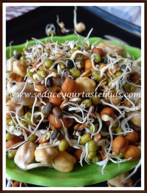 How to Sprout Lentils at Home | Homemade Sprouts