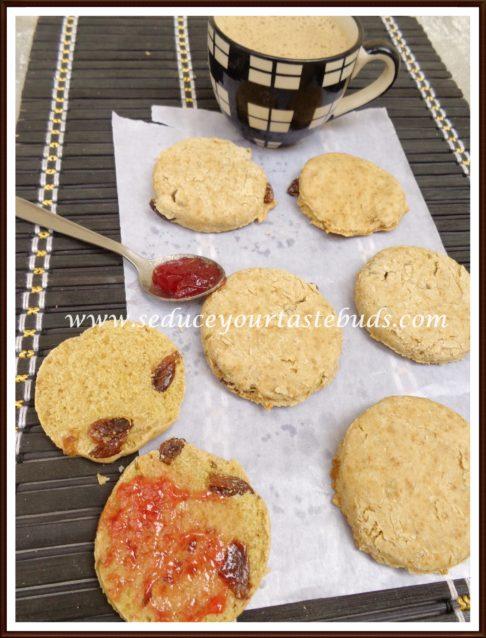Irish Soda Bread Biscuits [Egg-free] - Seduce Your Tastebuds...