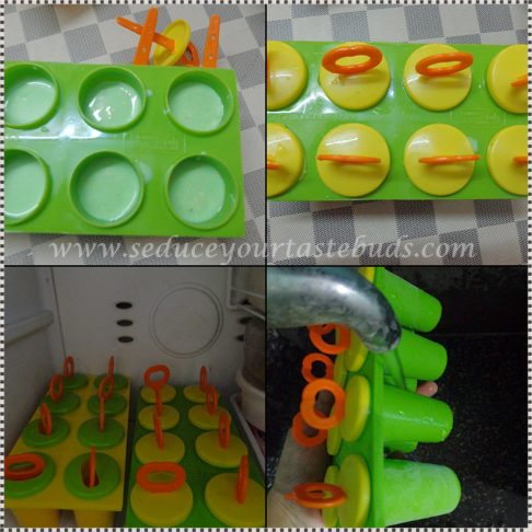 How to make pista popsicle