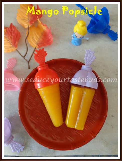 Mango Popsicle Recipe