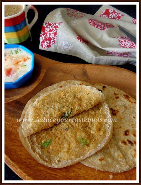 Soya Kheema Parathas Recipe