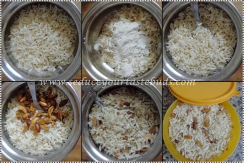 Sweet Poha Chivda | Sweet Aval Mixture Recipe