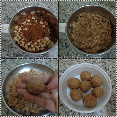 2 Ingredient Peanut Ladoo Recipe
