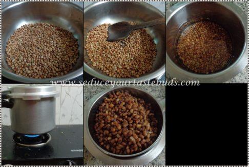 Instant Kaaramani / Thatta Payaru / Cowpea Sundal Recipe