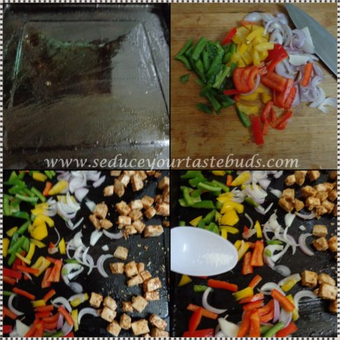 Sheet Pan Paneer and Bell Peppers Recipe