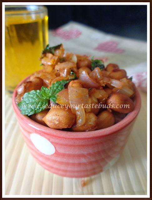Bangalore Style Spicy Peanuts Recipe