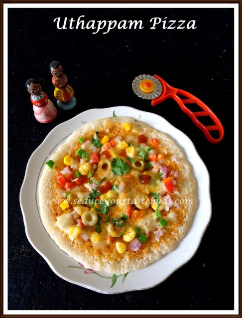 Uthappam Pizza |Desi Pizza