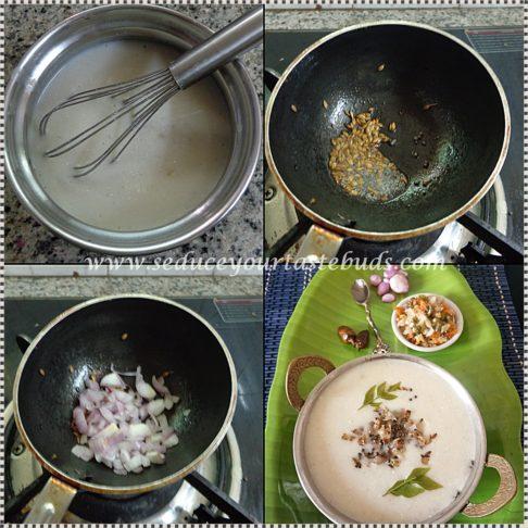 Samai More Kanji | Little Millet Porridge Recipe
