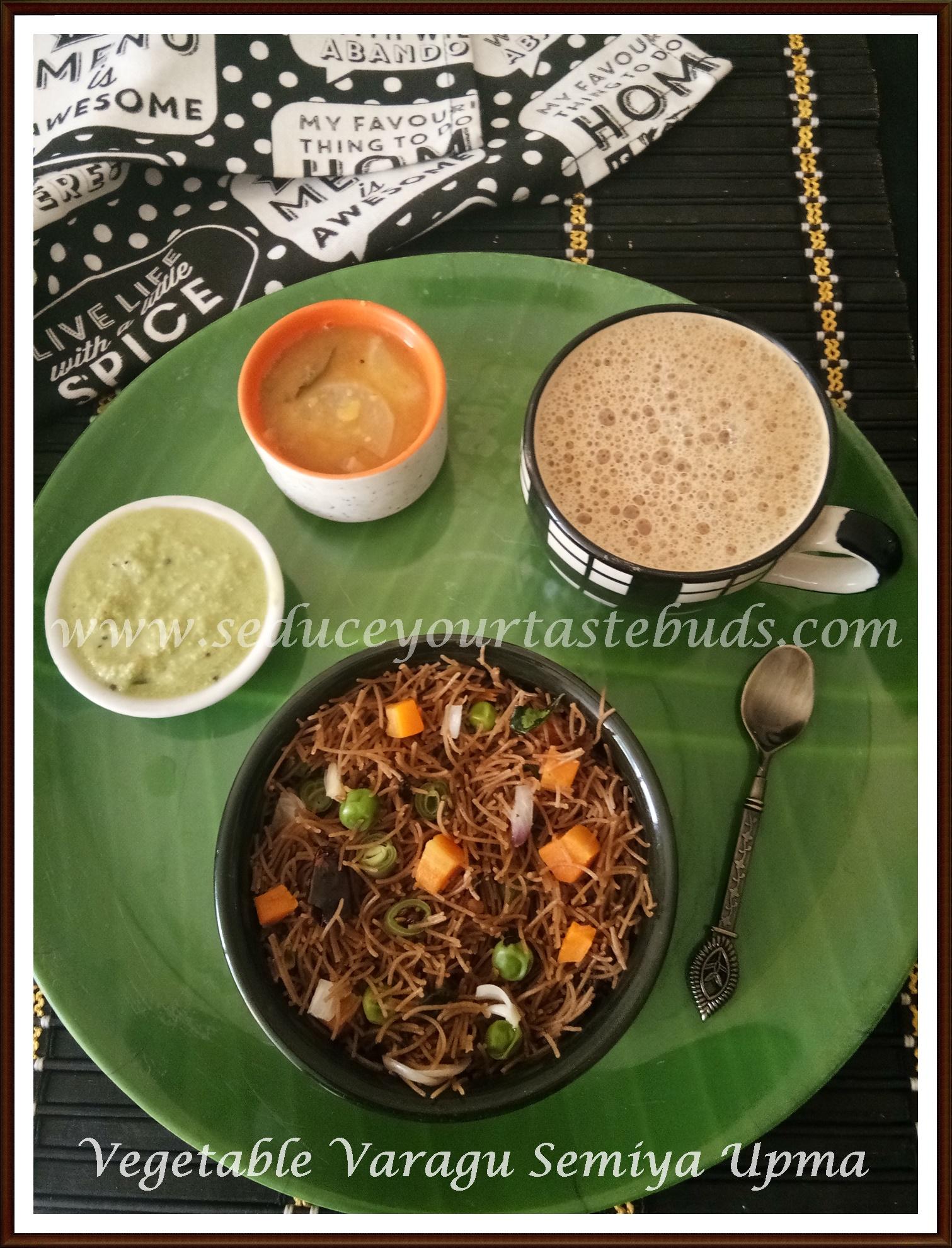 Vegetable Varagu Semiya Upma Recipe Seduce Your Tastebuds