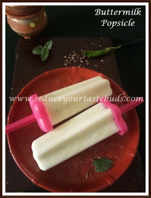 Buttermilk Popsicle Recipe