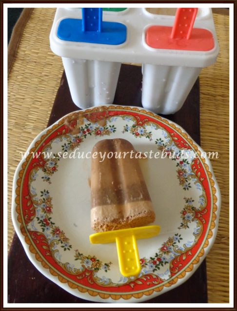 Vegan Chocolate Peanut-Butter Popsicle Recipe