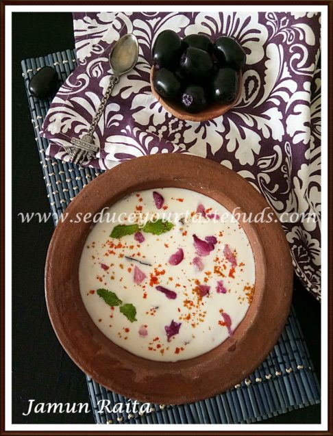 Jamun Fruit | Nagapalam Raita Recipe