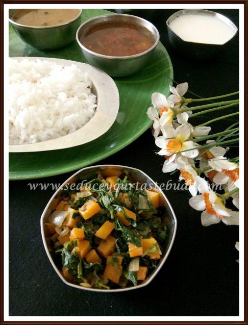 Carrot Methi Subzi | Carrot Fenugreek Leaves Stir-Fry Recipe