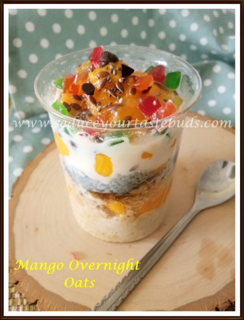 Mango Overnight Oats Recipe