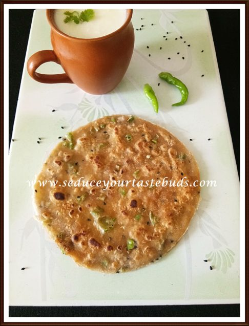 Hari Mirch ka Paratha | Green Chilli Paratha Recipe