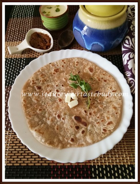 Makuni Recipe | Bihari Sattu Stuffed Paratha Recipe