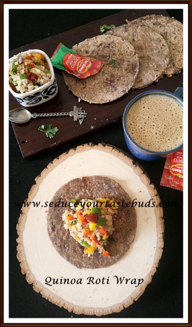 Quinoa Roti Wrap Recipe