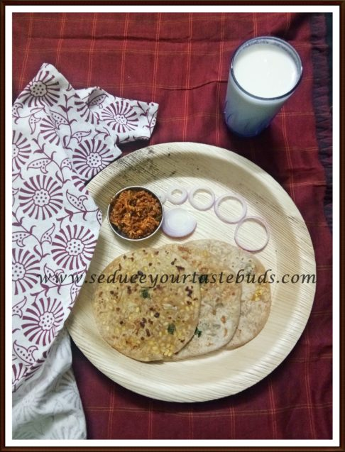 Yellow Moong Stuffed Paratha Recipe