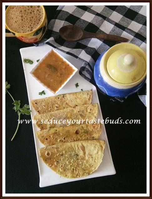 Winter Melon Paratha Recipe