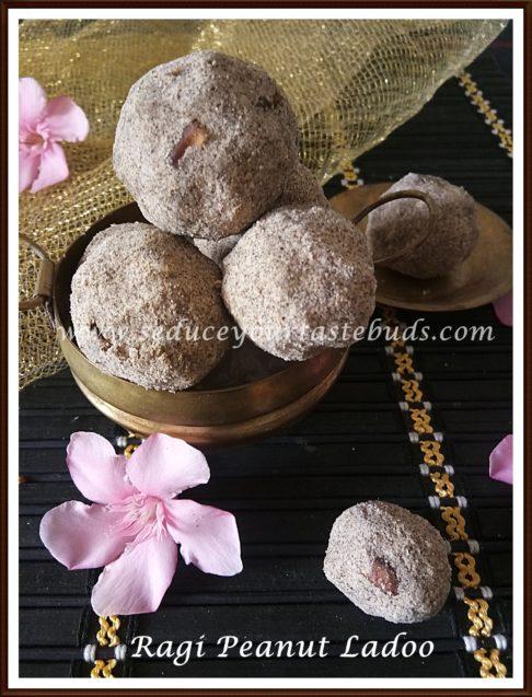 Ragi Peanut Ladoo Recipe