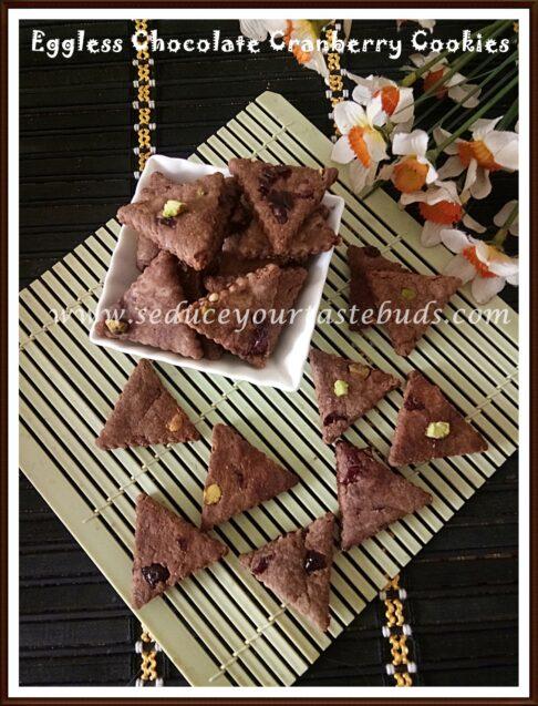 Chocolate Cranberry Cookies Recipe