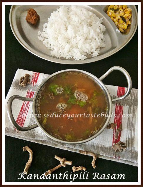 Kandanthippili Rasam | Long Pepper Rasam Recipe