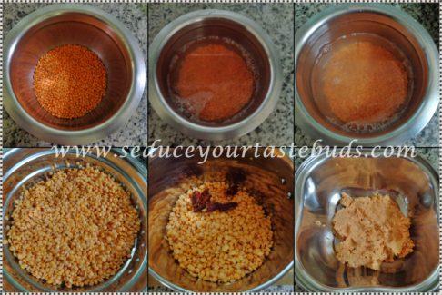 Masoor Dal Vada Recipe